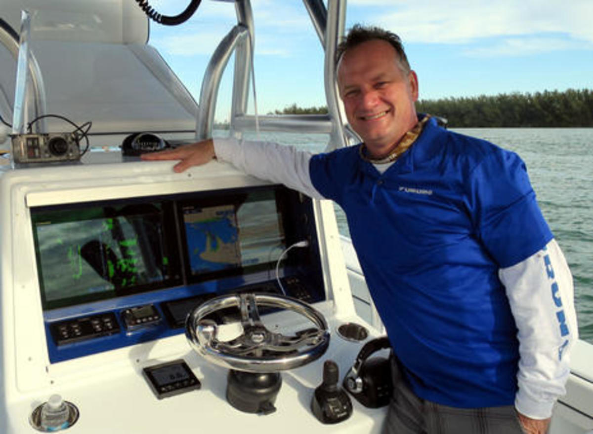 Eric Kunz brings marine electronics to market. At TrawlerFest he'll share tips on how to troubleshoot your devices before calling a technician.
