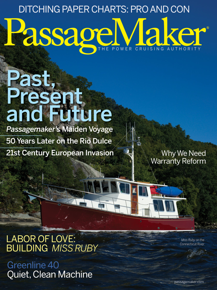 Miss Ruby graced our January/February 2014 cover from her then home on the Connecticut River.