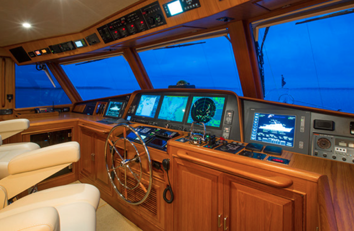 Fleming takes pride in offering owners the latest and greatest in navigational technology.
