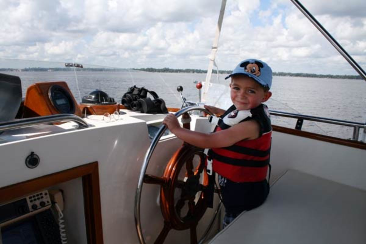 Ah, the future Capt. Jake? Time will certainly tell.