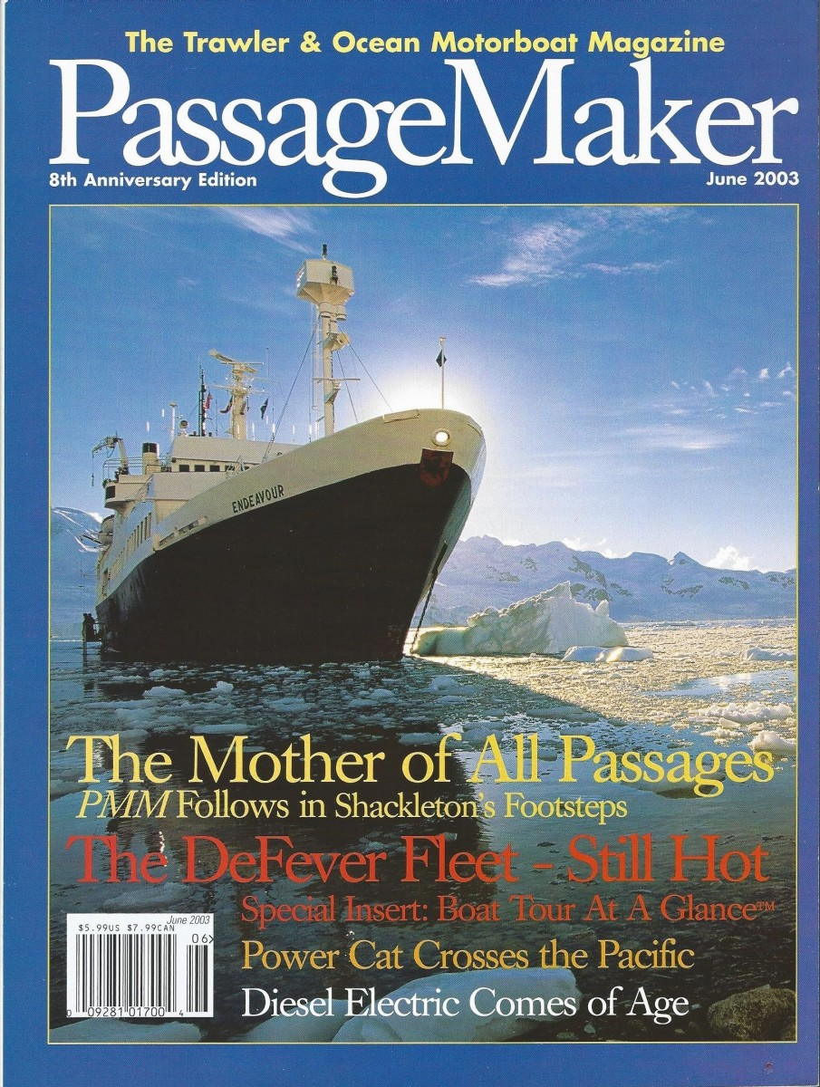 As this cover shows, PassageMaker took an unconventional approach to its subject matter, and the readers loved it.
