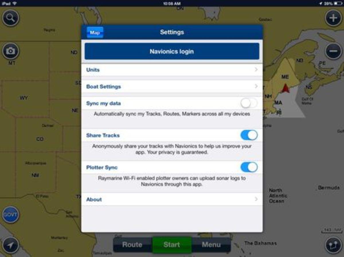 Navionics Boating app, now with free U S  charts! - PassageMaker
