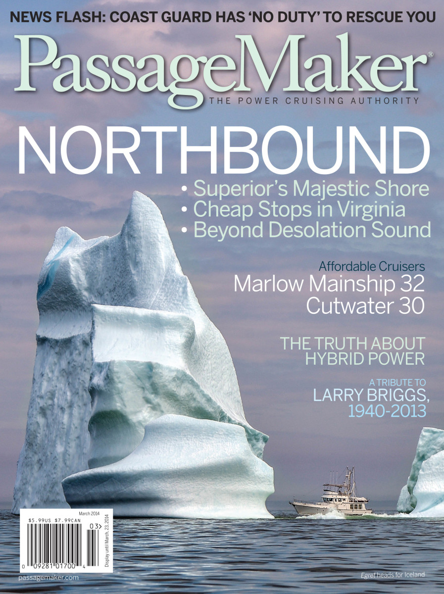 Click here to read the Flander's amazing cover story about their passage to Iceland.