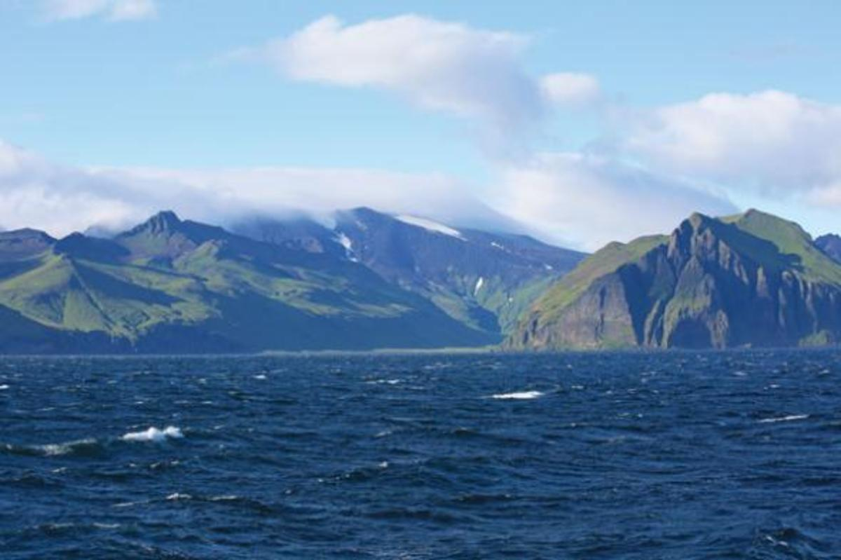 Entering the fabled Dutch Harbor.