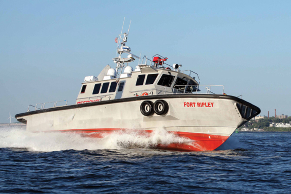 Charleston Response Vessel FORT RIPLEY 08/19/14