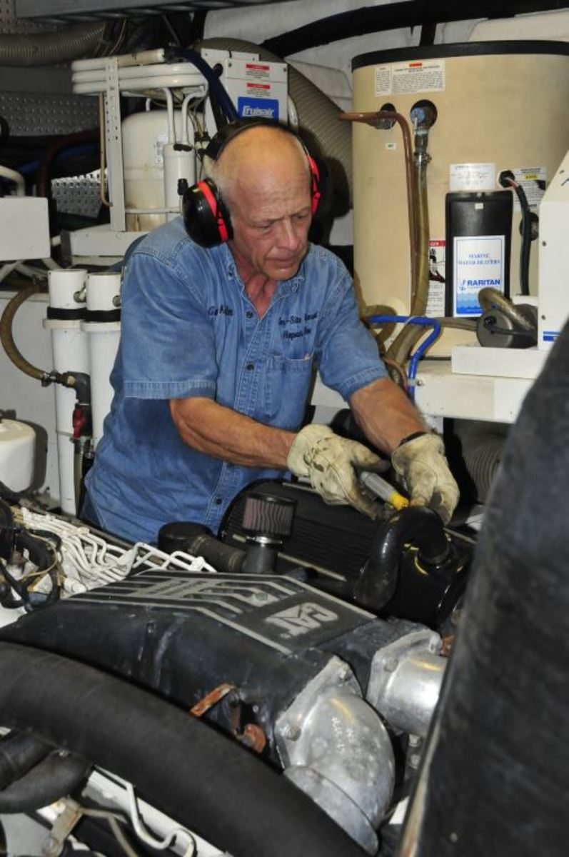 While carrying out engine surveys, savvy mechanics should be able to look beyond the engine manufacturer's checklist and spot defects and impending failures.