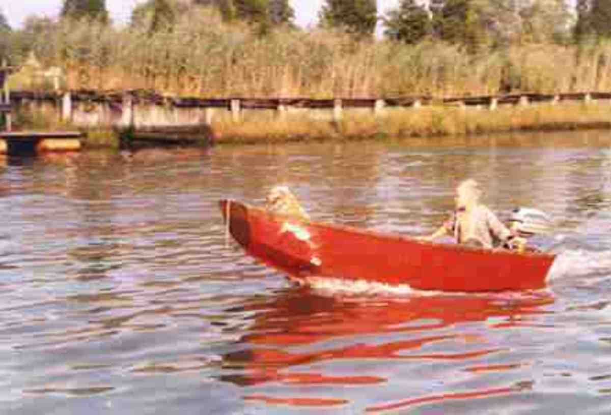 Ah, my childhood dinghy. Just a boy and his dog... bliss.
