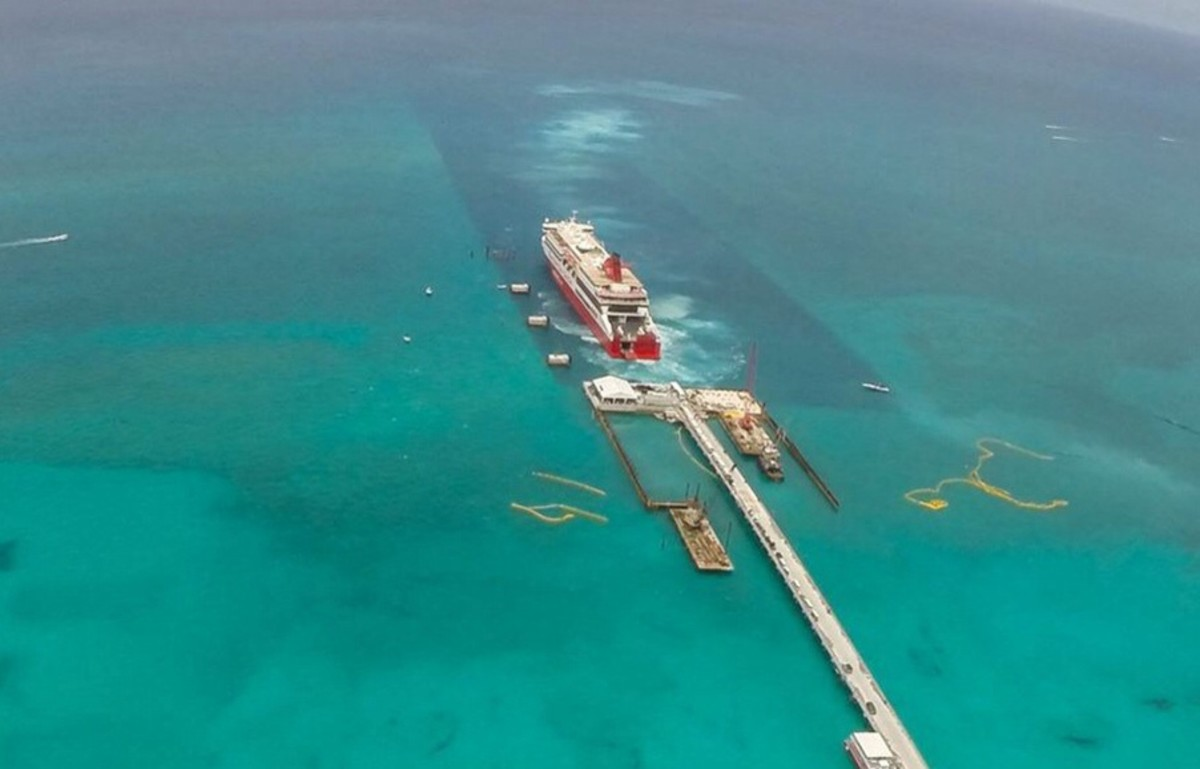 Bimini Cruisers Warned About New Ocean Pier And Superfast