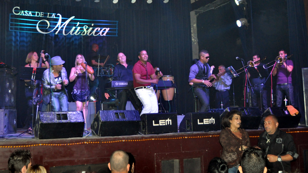 Casa De La Musica in Havana offers world class entertainment nightly.