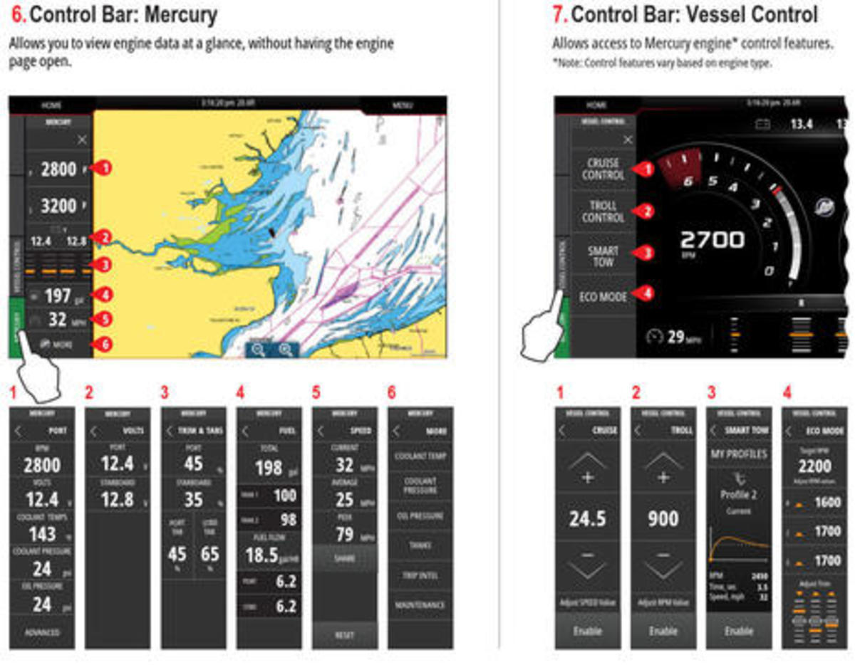 Mercury & Navico: New VesselView Link, VesselView 702/502 Displays