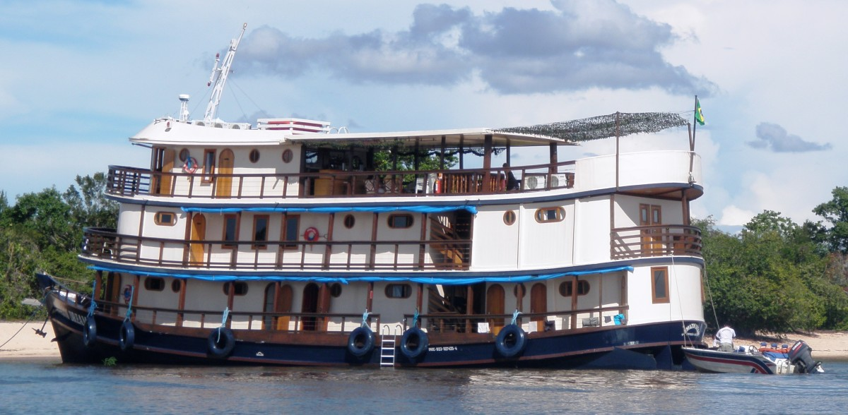 The Amazon Queen is the local, nautical celebrity.