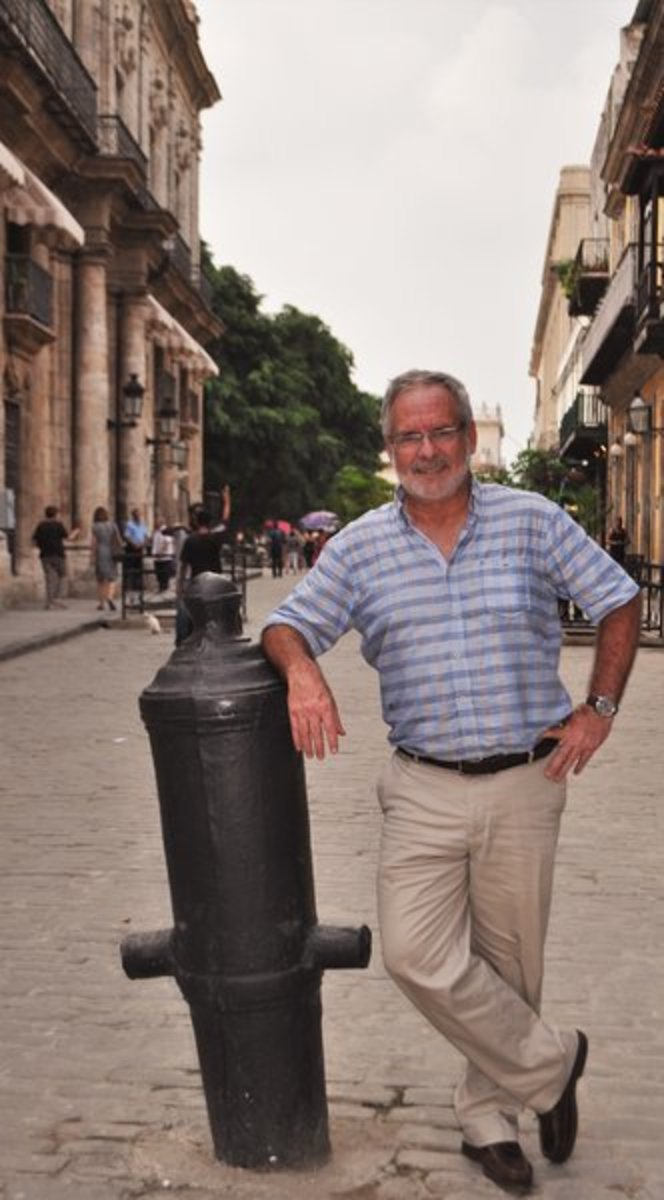 AIM Marine Group's Peter Swanson returns to Havana in October to direct our second rally.