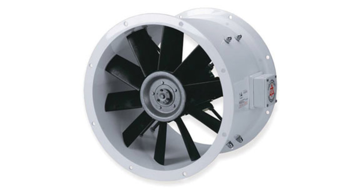 "ER fans, like those from Delta ""T"" Systems vastly improve airflow."