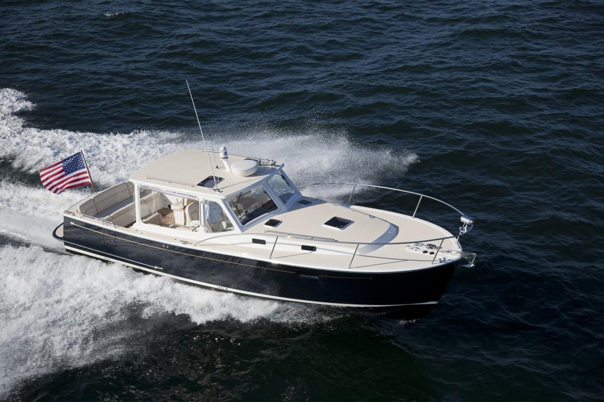 MJM 36z boat test Newport, RI