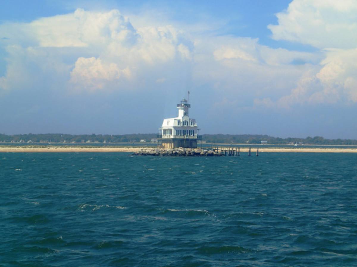 Long Beach Point Lighthouse.