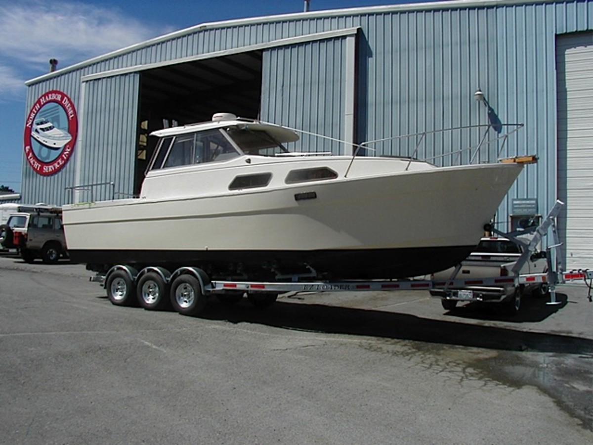 Finished product at North Harbor Diesel & Yacht Service in Anacortes, Washington.