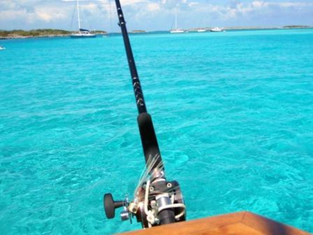 Go ahead, tell me you've fished in water nicer than the water at Allen Cay.