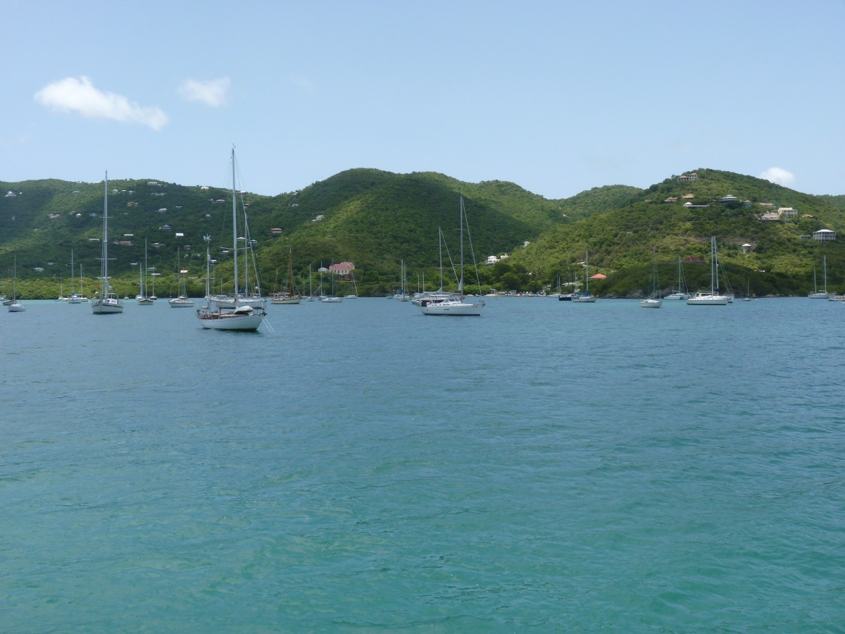Coral Bay, St. John, US Virgin Islands.