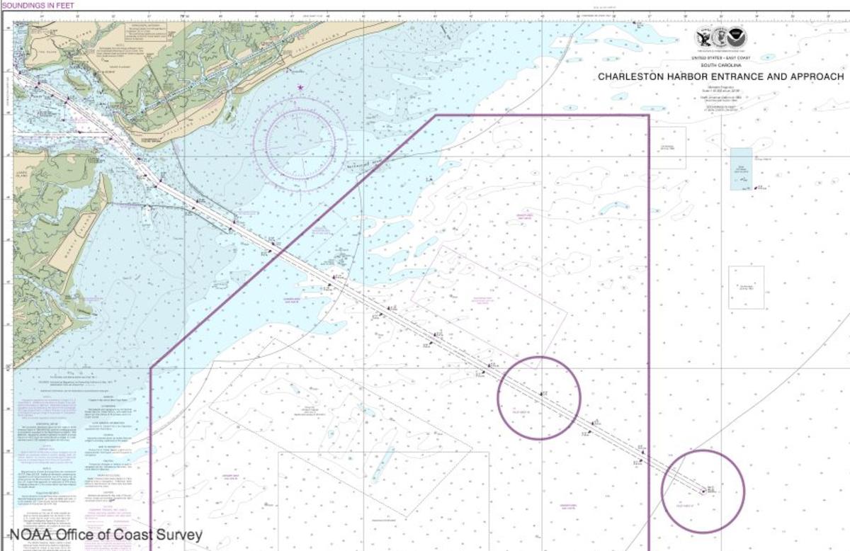 Noaa Releases New Nautical Chart For Charleston Harbor