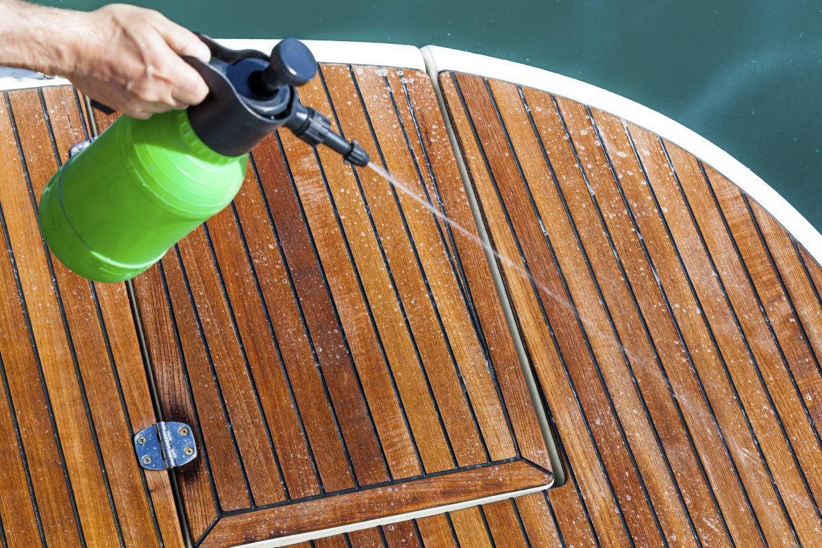 When it come time to show your boat, dont forget about all those cleaning products you've lovingly neglected.