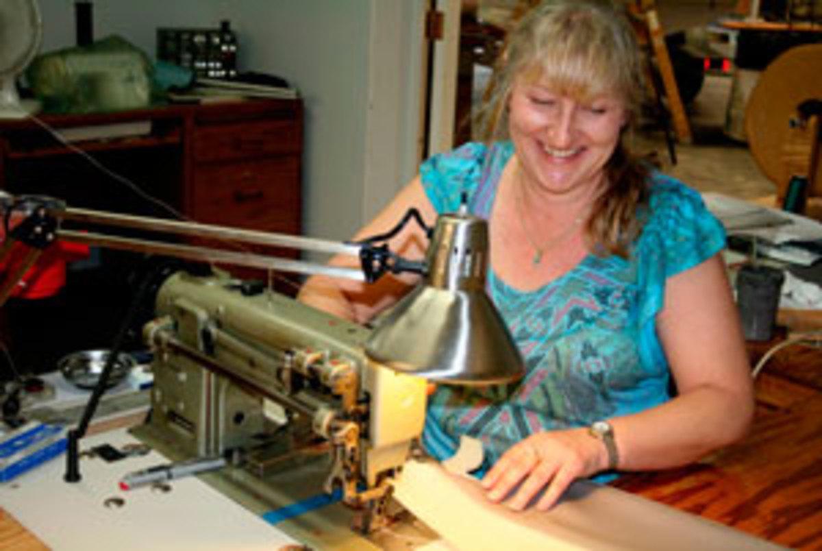 Talented Pro Carol Racine does high-end custom work in Jacksonville, Florida.