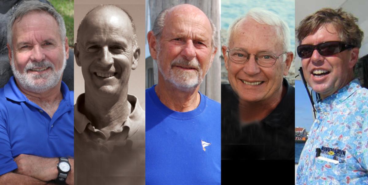 Peter Swanson, Steve Zimmerman, Bruce Kessler, Milt Baker and Jeff Merrill