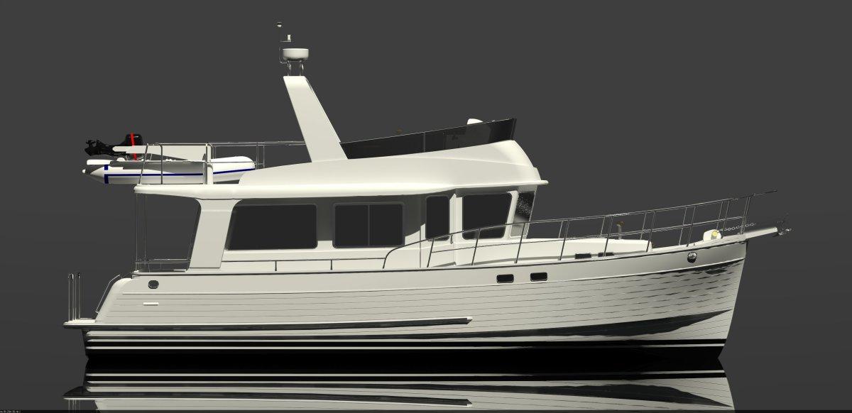 New Boat North Pacific 44 Sedan Passagemaker