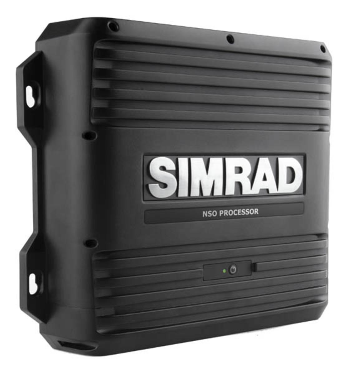 Simrad's new quad-core black box, the NSO evo2.