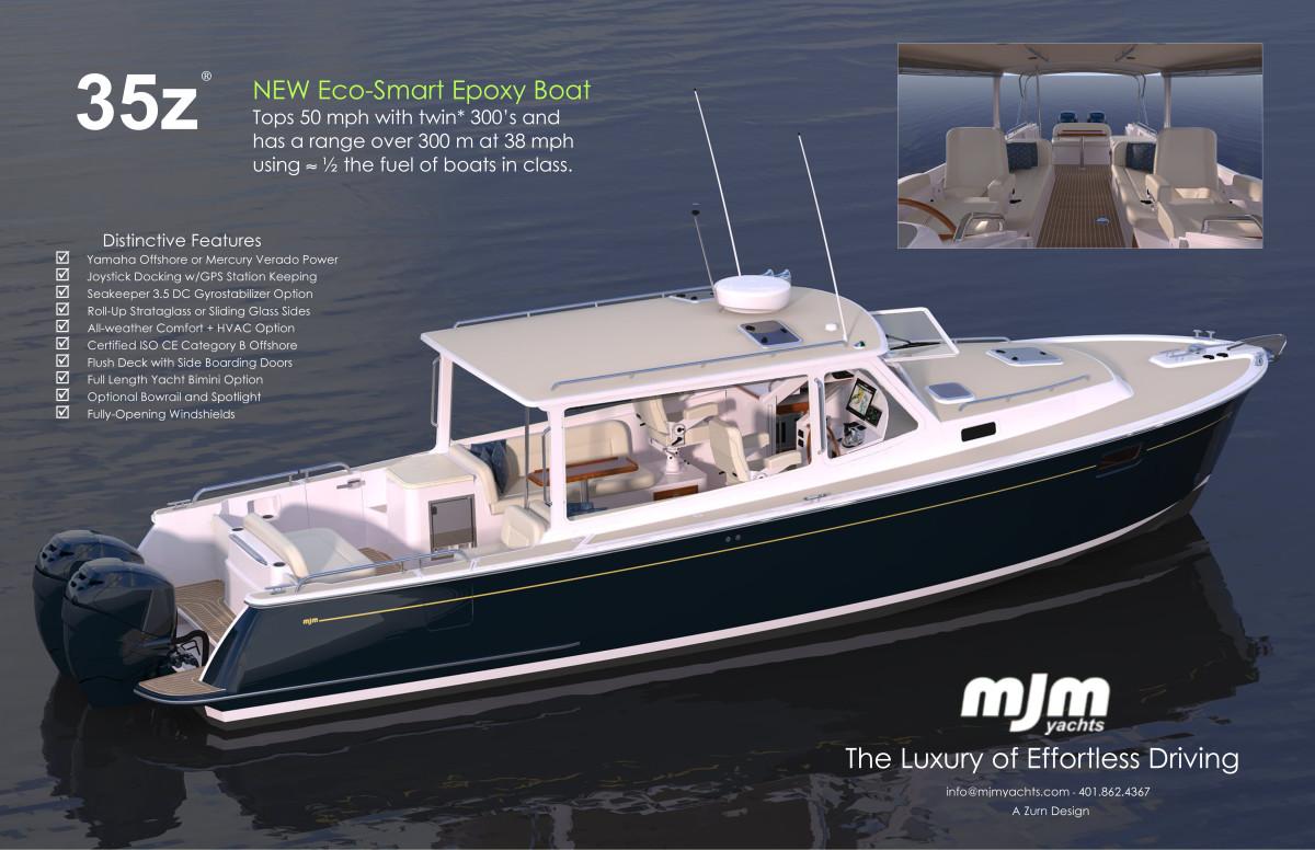 New Boat Mjm 35z Passagemaker