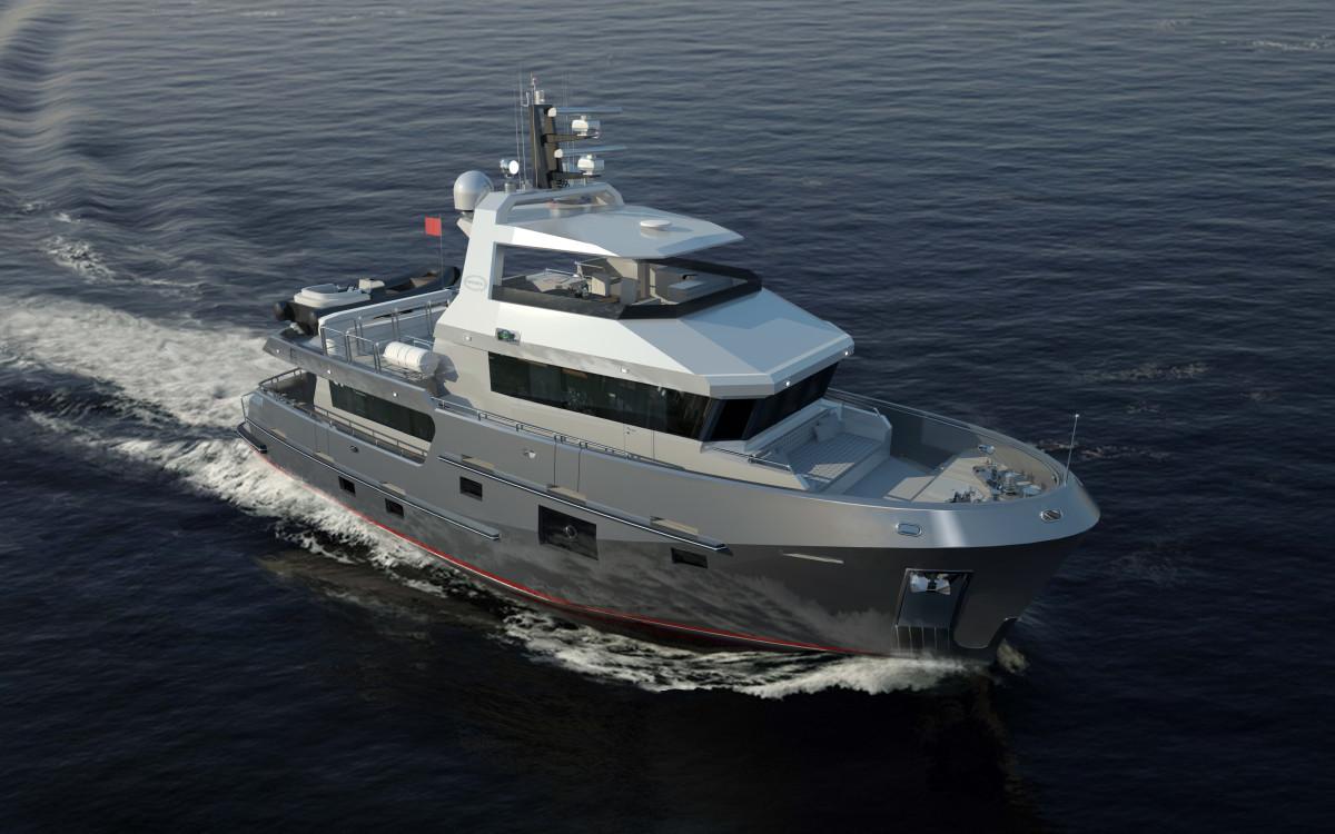 Bering Unveils Beastly New 77-Footer - PassageMaker