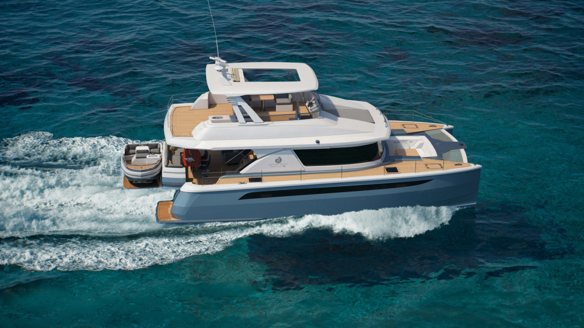 Outer Reef Yachts Debuts Multihull Passagemaker