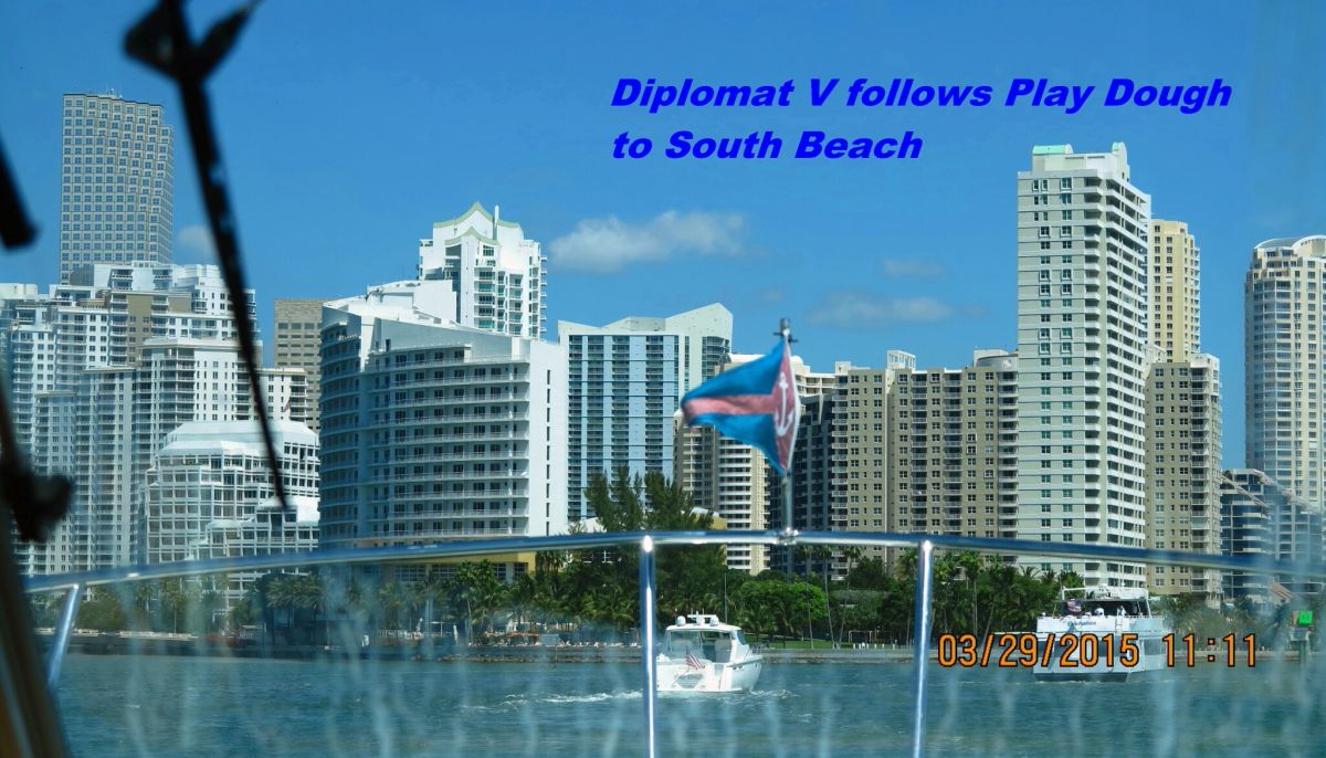 Following Play Dough to Miami Beach Marina