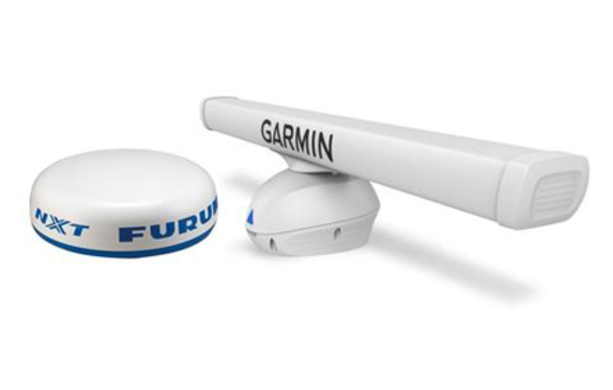 Furuno Nxt  U0026 Garmin Fantom  Doppler Marine Radar Is Here