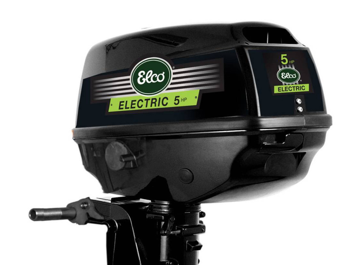 Elco Introduces Line Of Small Electric Outboard Motors