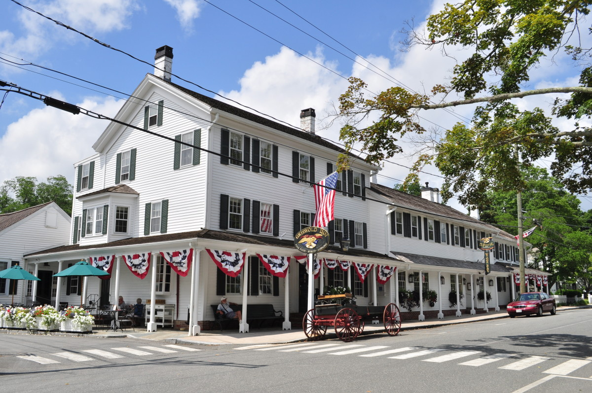 "The Griswold Inn, known locally as ""The Gris,"" opened for business in 1776."