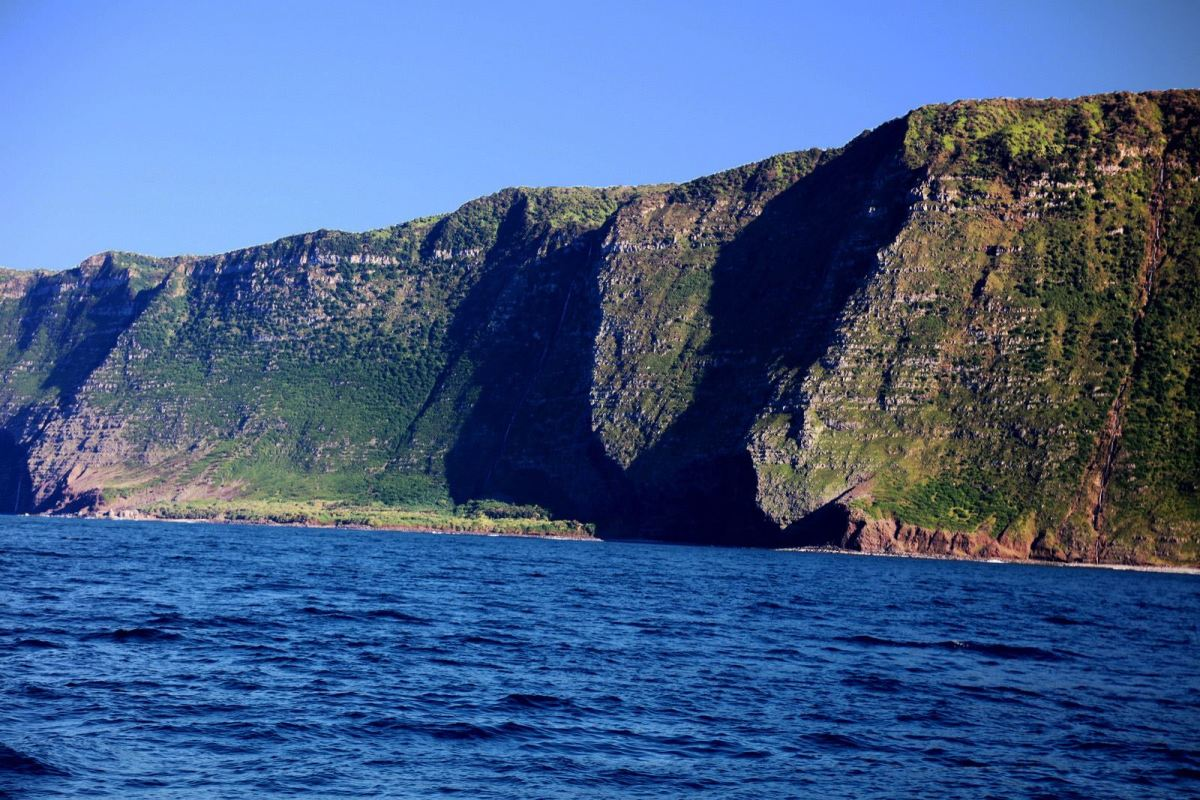 The cliffs are beyond-words magnificent.