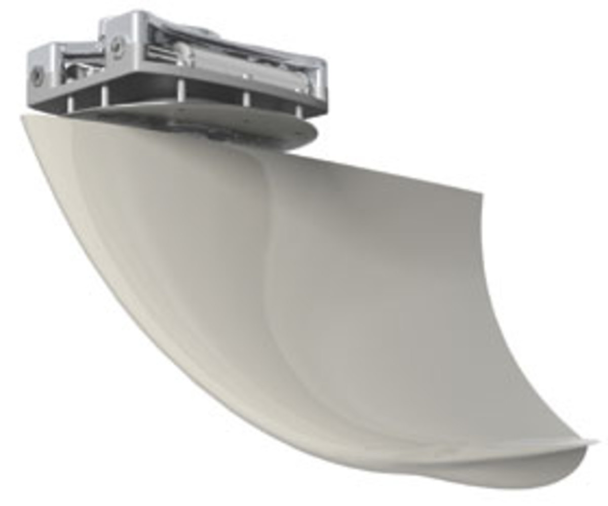 Imtra utilizes horizontal planes to add extra leverage to its highly able stabilizing fins.