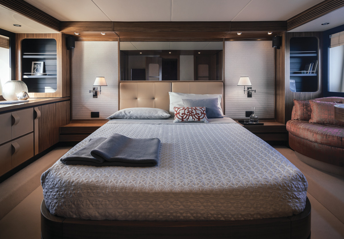 A look at the master stateroom
