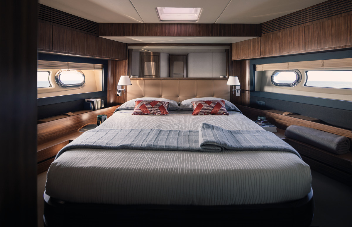 The VIP stateroom