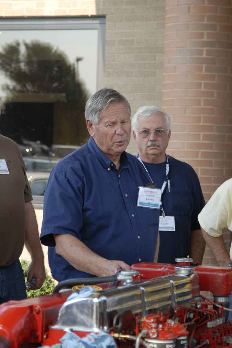 Bob Smith at Trawlerfest