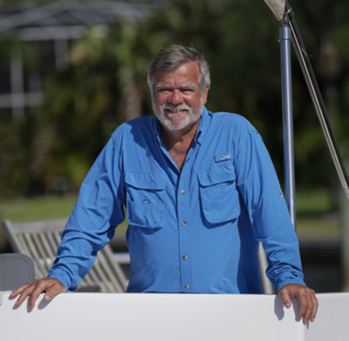 Ken Fickett. You can meet him at the upcoming TrawlerFests at Kent Island, Maryland and Stuart, Florida.