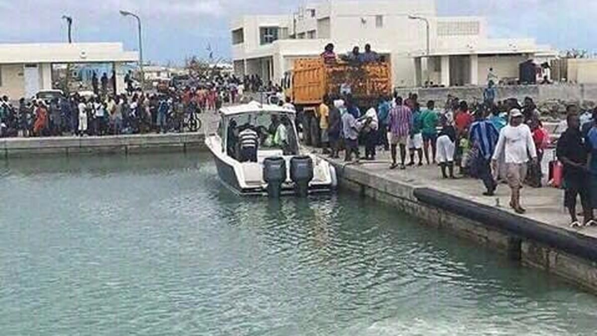 Voluntary evacuation from Barbuda