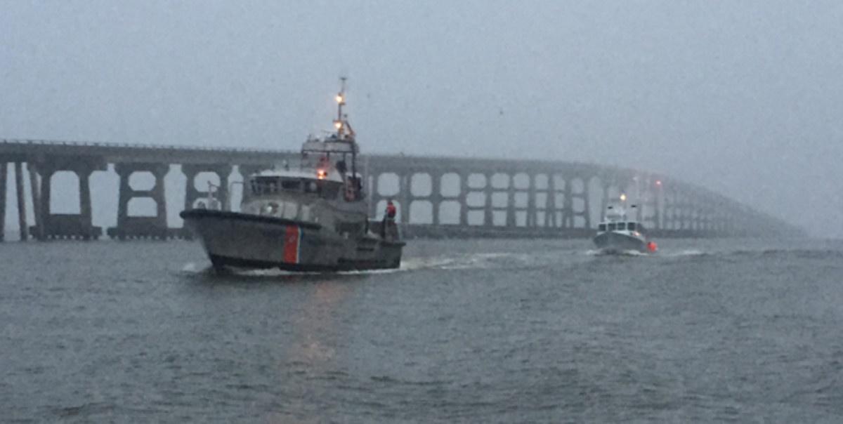 USCG boat crews practice towing on a regular basis.