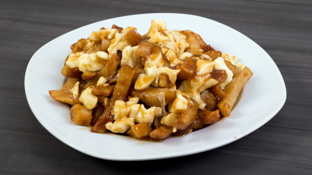 Poutine, Quebec's signature food.