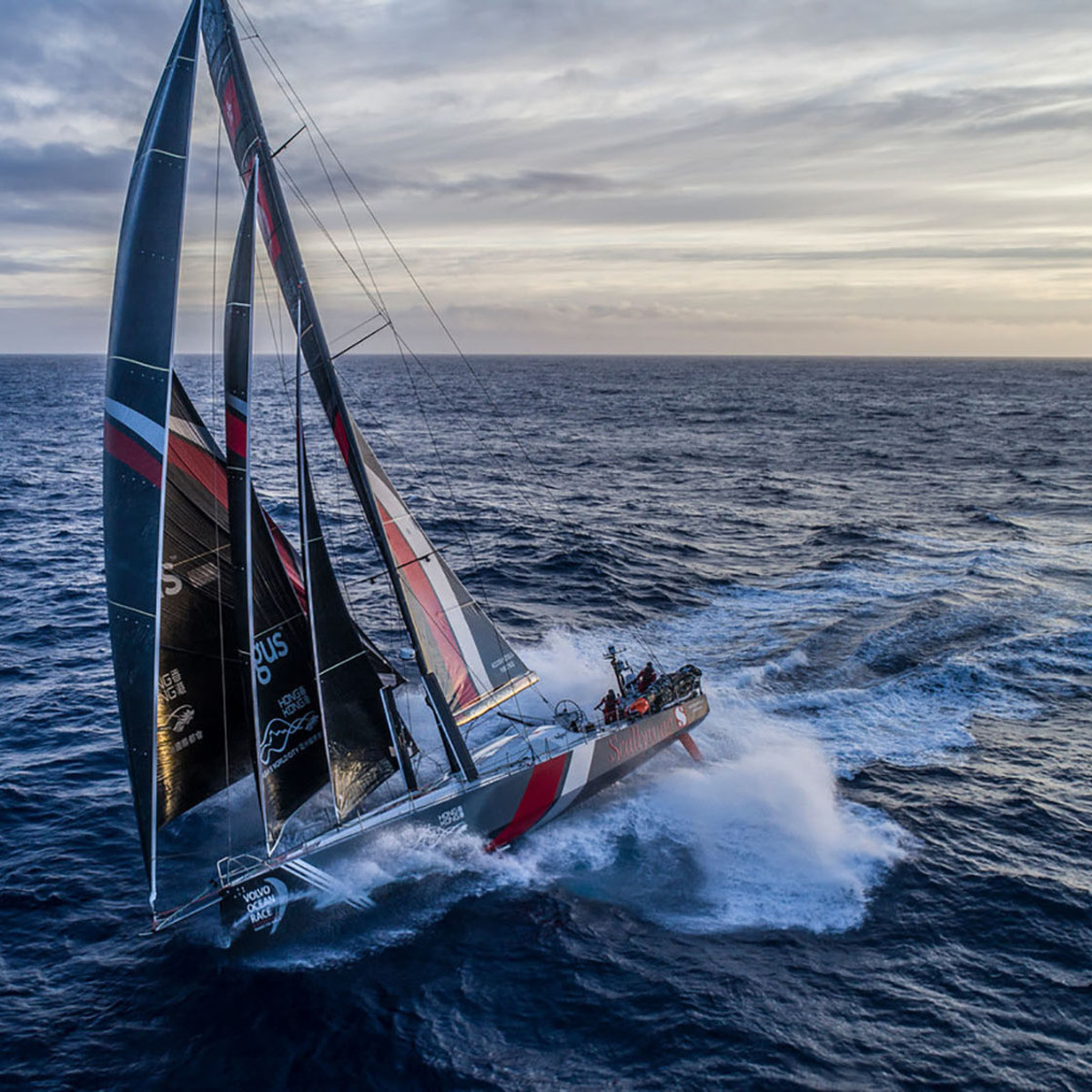 Leg 7 from Auckland to Itajai, day 5 on board Sun Hung Kai/Scallywag. Just under 3,000 miles to go until Cape Horn. Still a lot left in this race. 22 March, 2018.