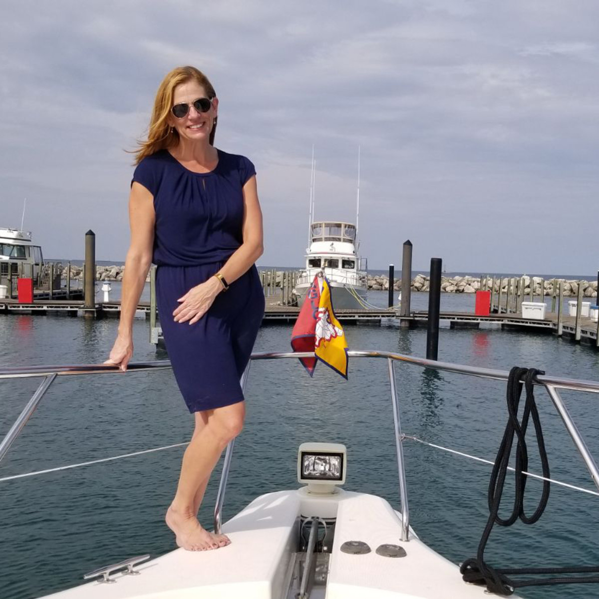 Kim Russo, the Executive Director of the American Great Loop Cruising Association.