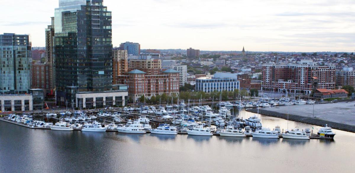 Harbor East in Baltimore's famed Inner Harbor.