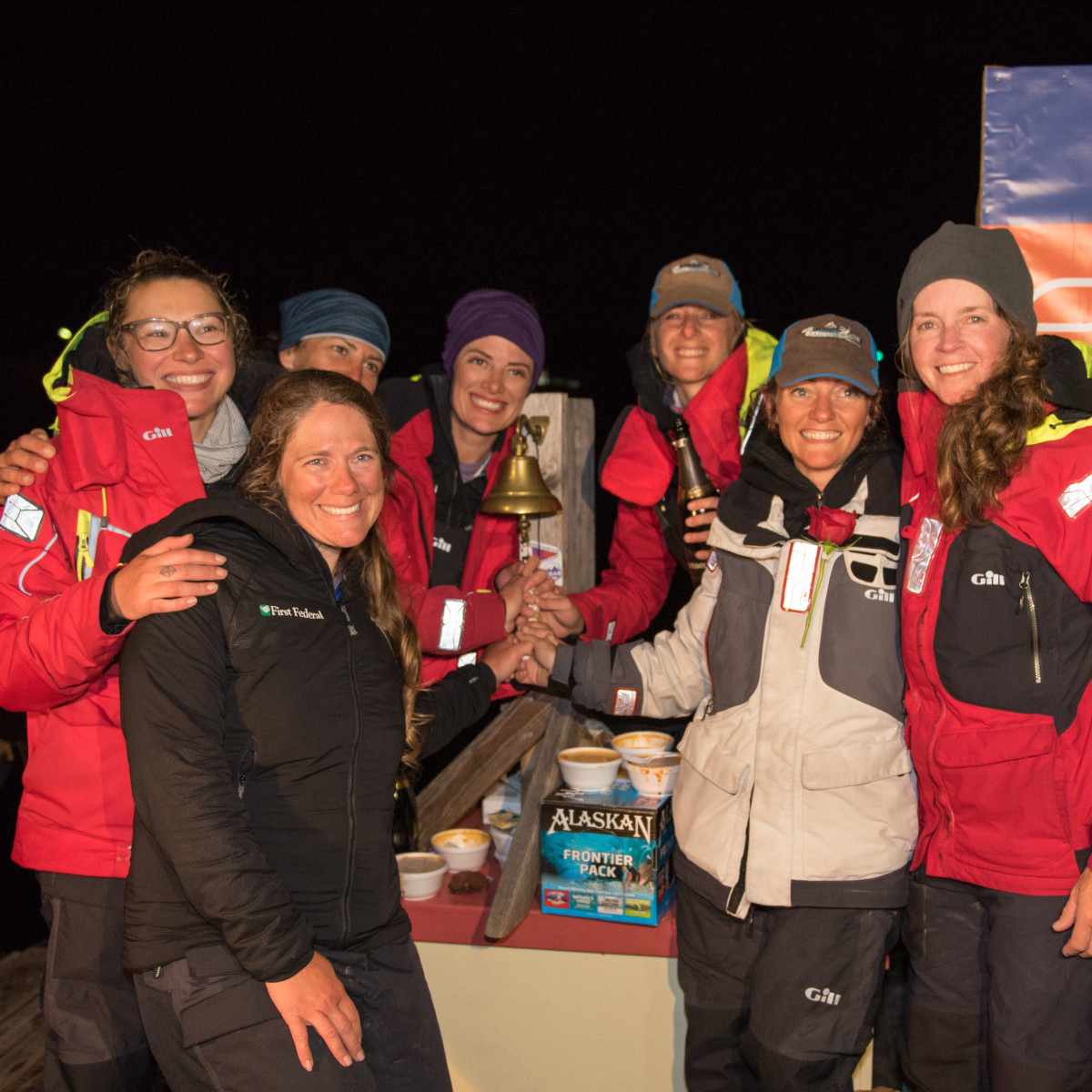 After 157 hours of nonstop sailing, Team Sail Like a Girl took line honors on June 24 in Ketchikan, Alaska.