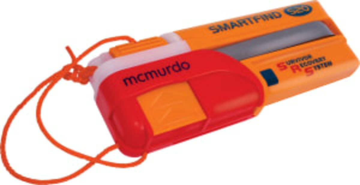 The McMurdo SmartFind S20 AIS MOB device.