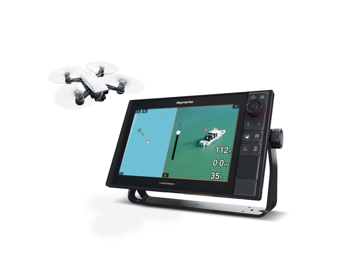 Raymarine Axiom will help you take your drone selfies to a new level.